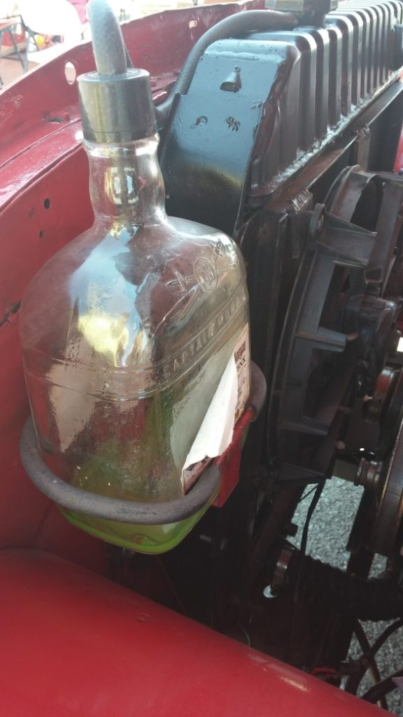 Captain Morgan coolant overflow tank!